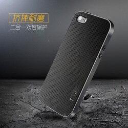 100% d'origine ipaky marque Meilleure qualité cas Pour iphone 5s pour iphone SE Classique Couverture Arrière de Silicium toutes les couleurs en stock