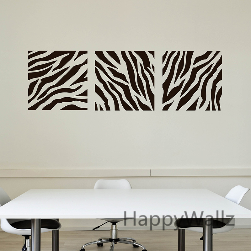 Aliexpresscom Buy Zebra Stripe Wall Sticker Decorative Zebra - Zebra stripe wall decals