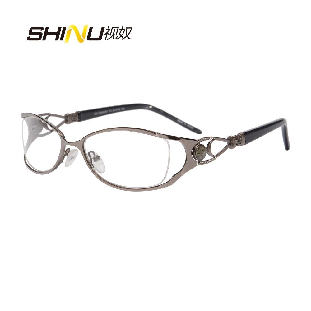 Bekleidung Zubehör Herzhaft Frau Brillen Rahmen Designer Marke Optischen Rahmen Metall Brillen Rosa Rahmen Whosale Preis Freies Verschiffen Rm00397 Damenbrillen