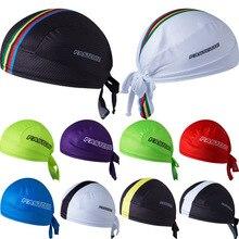 Cycling Cap Sweatproof Sunscreen Headwear Bike Team Scarf Coif Bicycle Bandana Pirate Headband Riding Hood Sports hat headscarf