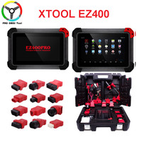 100% original XTOOL EZ400 PRO Auto Diagnostic Tool OBD2 OBDII Scanner Diagnostic Tool EZ400Pro Free Update Online DHL Free