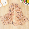 Free shipping 1 PC 50*160cm New Arrival Korean Style Music Note Printed Lady Chiffon Silk Scarf