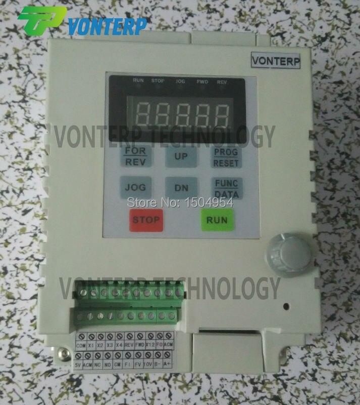 2.2KW 10A 220 v entrée monophasée et 220 v monophasé sortie variateur de fréquence/convertisseur de fréquence/ ac/VFD