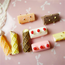 Resin Simulation Food Chocolate Bar Miniature Kawai DIY Accessories For Phone Shell Materials Hairbow Center Decoration