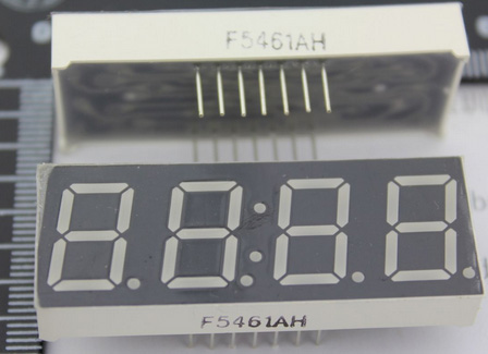 Free Shipping 100pcs/lot 14 Pin Time Display Common Cathode 0.56inch 4bits Digital Tube Size 50*19 *7.8MM