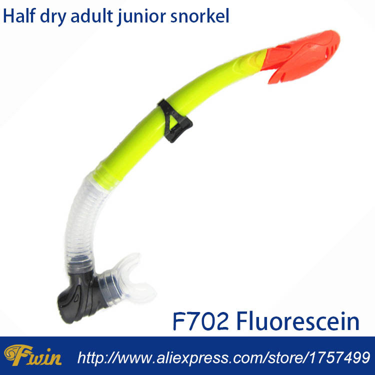 Soft silicone snorkel dive scuba free diving wet breathing for Dive tube