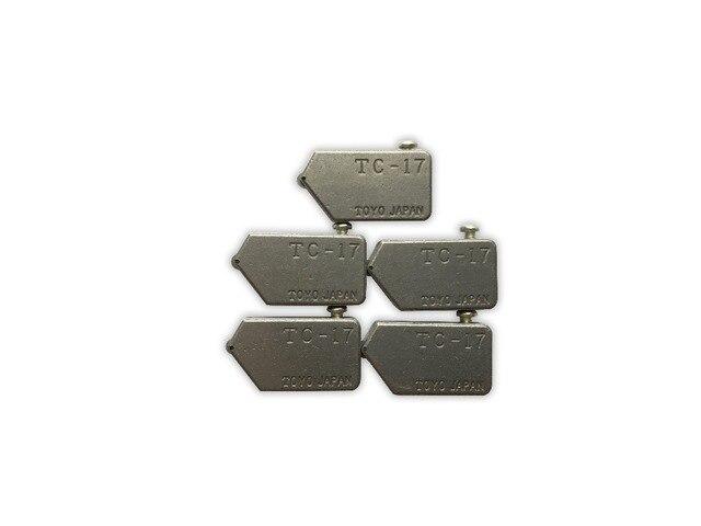 Бесплатная доставка POGUT Замена Toyo Тип TC-17 резчик по стеклу глава 5 шт./лот