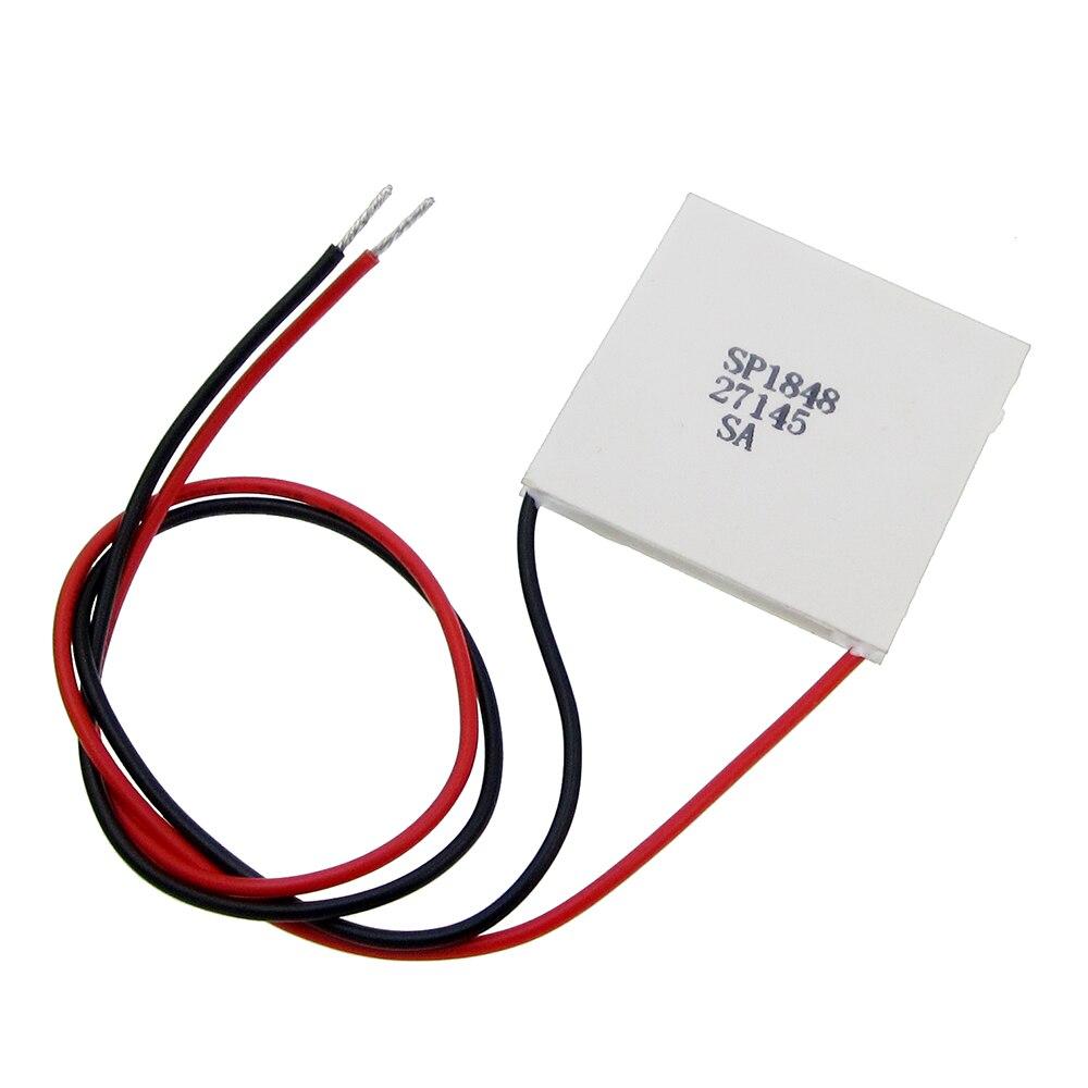 new SP1848-27145 TEC 40x40mm Semiconductor Thermoelectric Heatsink Cooler Peltier Plate Module For Power Generation Pakistan