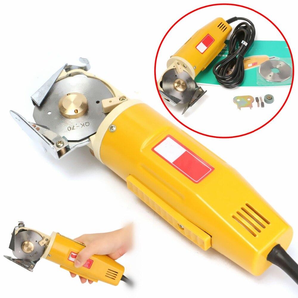 220 V 170 W électrique tissu couteau tissu outils de coupe en cuir tissu électrique Cutter Machine Kit lame outils électriques scies à découper
