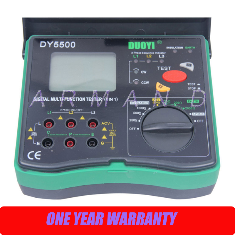 DY5500 Multi Function Tester-in Resistance Meters From