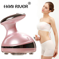 2018 NEW Portable Ultrasonic Body Slimming Massager Cavitation Fat Removal Photon Radio Cellulite Reduce Body Shaping Equipment