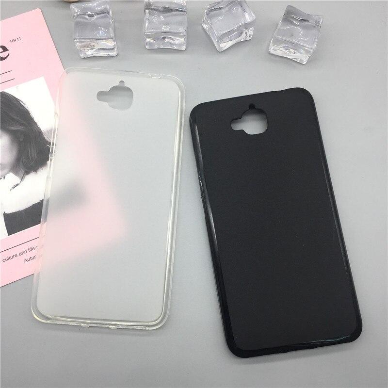 Funda de silicona suave Para teléfono Para Huawei Enjoy 5/Y6 Pro/Honor 4C Pro/Holly 2 Plus TIT-AL0 funda carcasa negra