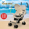 Ultra portable umbrella car can sit down baby stroller baby infant child summer shock proof foldable trolley