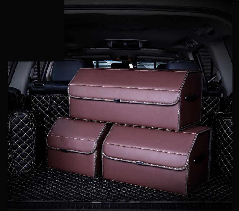 Autofans Авто PU кожа складной багажник коробка картонная загрузки Организатор шторка багажника автомобиля организатор большой багаж окно загрузки S03