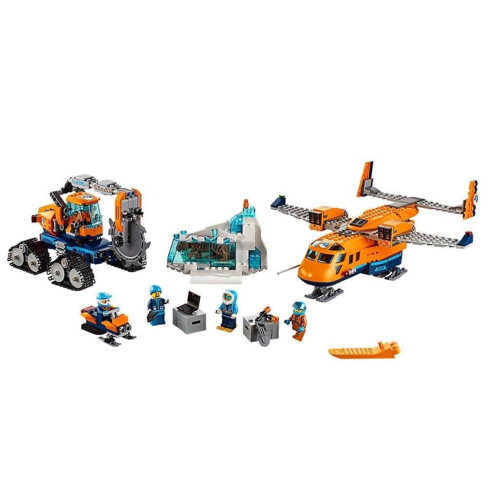 Arctic Supply Plane Compatible Legoe City Arctic Expedition 60196 Building Blocks toys for Childrens Bricks Model 791Pcs