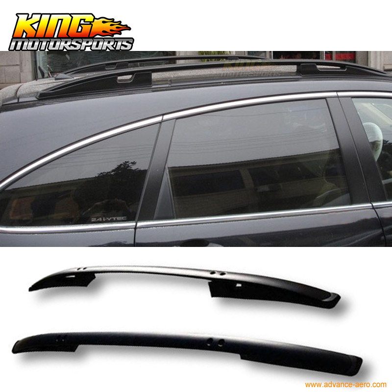 For 07 11 Honda Crv Cr V Oe Factory Style Black Roof Rack