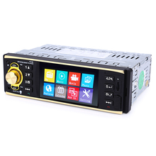 4019B 1 Din Car MP5 Player MP3 Car Multimedia Player Stereo Audio Video FM Radio Transmitter Bluetooth  Rear View Camera 4.1Inch