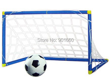 Football Soccer Door Gate Fun Sport Out Door Deluxe Football  Goal with Ball