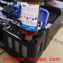490 GI 490BK Pigment GI 490C GI 490M GI 490Y is Dye ink refill kit for Canon PIXMA G1400 G2400 G3400 G2410 G3410 inkjet printer