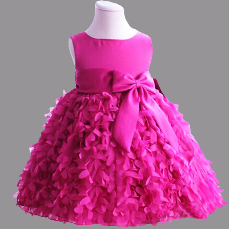 Top Grade Formal Dress Cute Girl Wear 2015 Girls Floral -1630