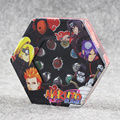 10 pçs/lote Novo Anime Cosplay Naruto Akatsuki Anel Conjunto Dos Deputados Akatsuki Cosplay Anel de Dedo Acessórios para Meninos e Meninas