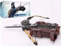 NECA Assassins Creed 5G Evolution Solidarity Edward Wrist Sleeve Sword PVC Cosplay Weapon Action Figure Boy Toys