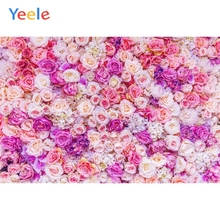 Yeele Vinyl  Flowers Wedding Photocall Photography Backdrop Girl Birthday Party Photographic Background For Photo Studio