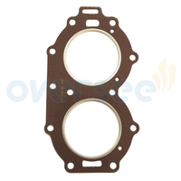 OVERSEE 61N 11181 A0 Cylinder Head Gasket Replaces For Yamaha Outboard Motor 25HP 30HP