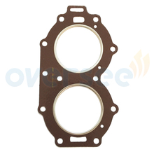 OVERSEE 61N-11181-A0 Cylinder Head  Gasket  Replaces For Yamaha Outboard Motor 25HP 30HP
