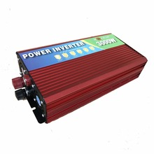 Инвертор 3000 Вт 12 В до 220 В для микроволновой печи, холодильник, Электрический дрель, резки, водяной насос, электрический чайник
