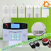 Беспроводная GSM Сигнализация Дома Системы Безопасности Поддержка Голосовые Подсказки 850/900/1800/1900 МГц