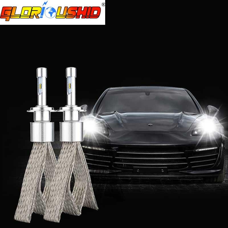 LED H4 avtomobili fənər HB3 9003 H4 Salam / Lo şüa 6000K Ağ 90W - Avtomobil işıqları - Fotoqrafiya 4