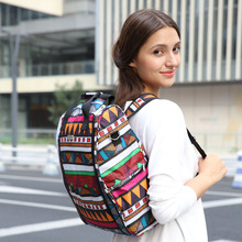 7 colors Print large capacity multifunctional backpack nappy bag baby diaper bags changing mat mommy bag babies care product