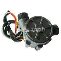 Otlan wasser heizung wasser flow sensor puls flow meter fluss schalter 1-25Lmin 16mm