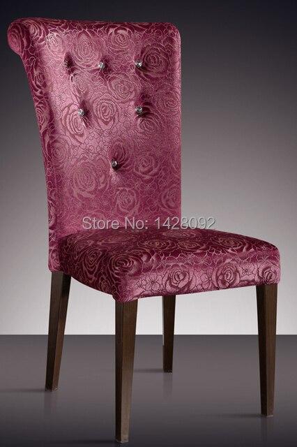Europäischen Und Amerikanischen Stil Komfortable Polster Esszimmer Stuhl  LQ L8854