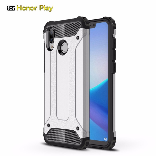 buy popular ed564 a6079 US $2.66 30% OFF|For Huawei Honor Play Luxury Tough Armor Hybrid Shockproof  Full Protect Hard PC Soft Silicon Phone Case Back Cover Rugged Coque -in ...