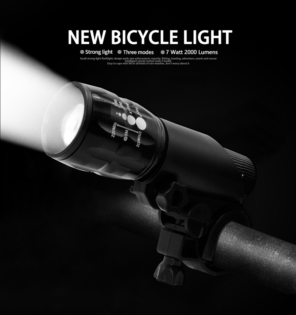 Bright Bicycle Light