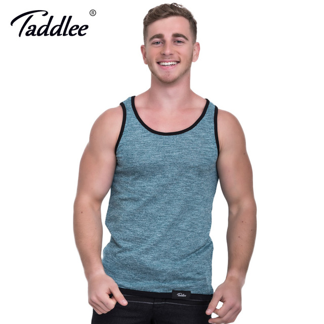 Taddlee Brand Men Tank Top T-shirts Sleeveless Fashion New Stylish Slim Fit Solf Solid Undershirts Casual Shirts Muscle Tank