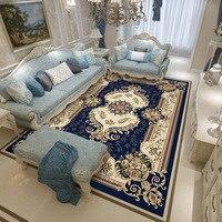 European Classical Carpet Livingroom Home Decor Bedroom Carpet Palace Sofa Coffee Table Rug Study Room Floor Mat Large Rugs