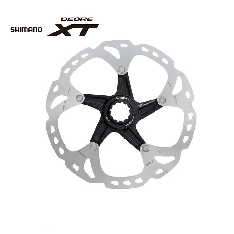 SHIMANO Deore XT SM-RT81 Stainless Steel Cycling Bike Bicycle Disc Brake Rotors Centerlock 160mm shimano rt81 160mm 6 inch ice technologies center lock disc rotors