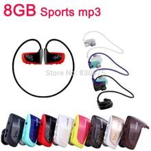 Caliente de la Alta calidad 8 GB W262 Deporte reproductor de MP3 Auriculares MP3 auriculares Estéreo para sony walkman reproductor de mp3 envío gratis