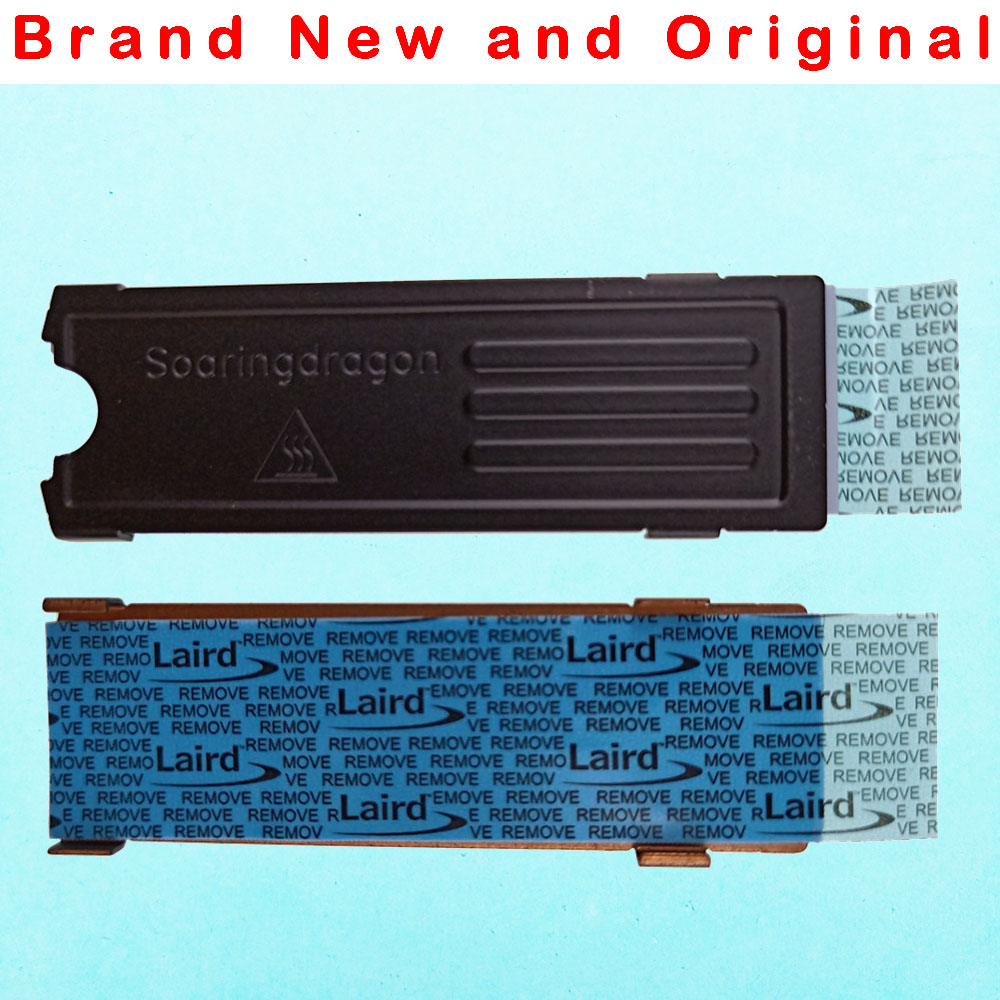 WU Heatsink for Dell xps13 15 9550 9560 M.2 SSD NGFF NVME plate cooling