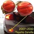 car-styling,Corolla Breaking light,2007~2010,led,Free ship!2pcs,Corolla rear light;car-covers,Corolla tail light,Chrome,CT200