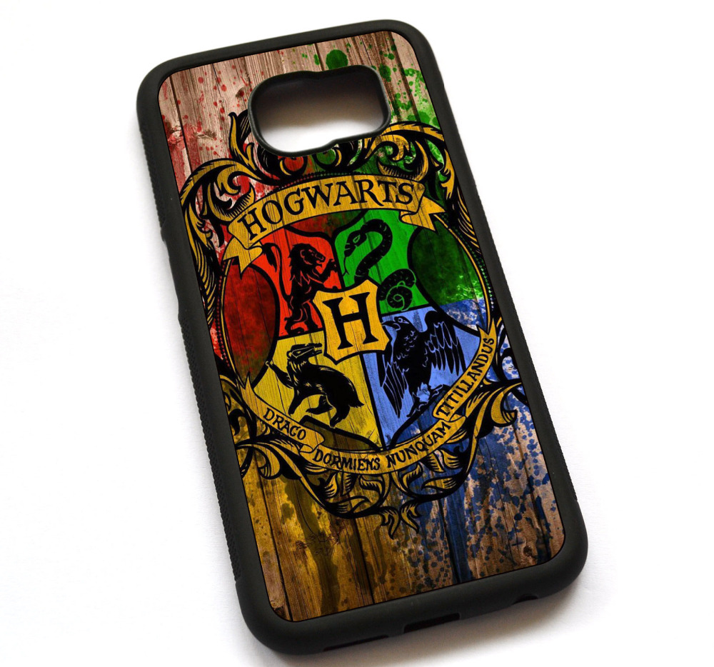 Hogwarts logo Harry Potter Case Cover, Case For Samsung Galaxy Note 2 3 4 5-in Half-wrapped Case