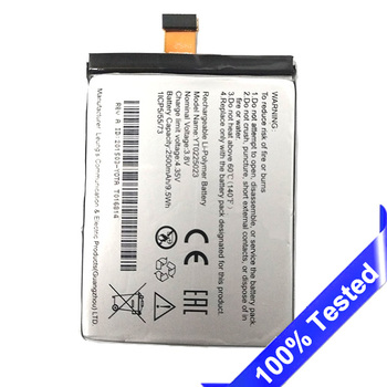 Voor Yotaphone 2 YD201 YD206 Batterij Ingebouwde Telefoon Batterij 2500 mAh YT0225023 Getest Nieuwe SanErqi