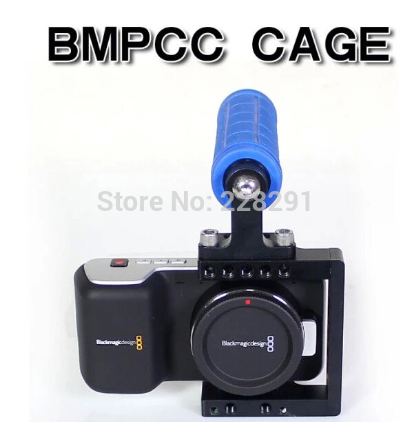 ФОТО BMPCC Rig Top Handle holder BMPCC Cage Kit For BlackMagic Pocket Cinema camera bmpcc stabilizer