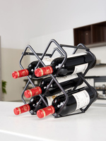 Современная Простота держатель для красного вина из углеродистой стали высоконогая стойка для стаканов с перевернутым вниз дисплеем полка