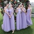 drnwof 2017 New Long Cheap Bridesmaid Dresses Wedding Party Dress Under 30 More Style Choose Women Junior Purple Red Grey Dress