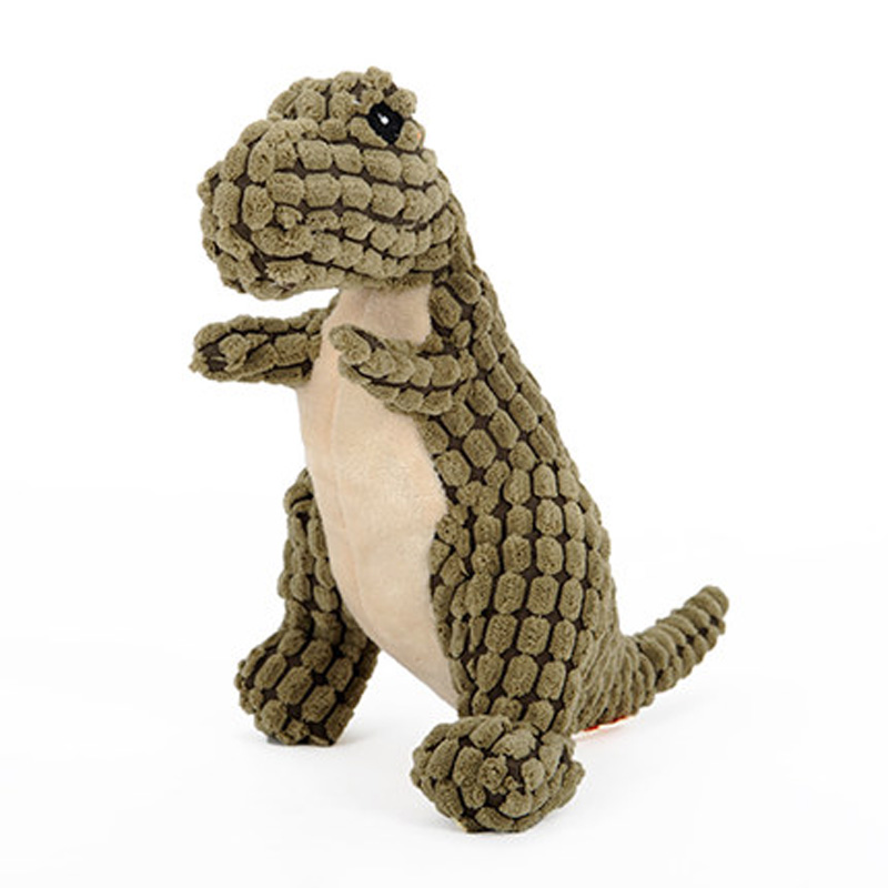 Dinosaur Dog Toy with Sound Resistant to biting Dog toys