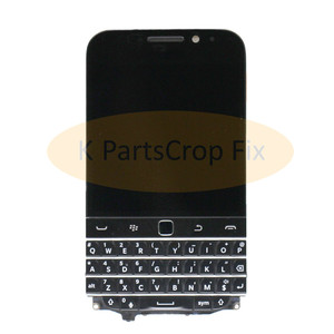 Image 2 - 3.5 For Blackberry Classic Q20 LCD Display Touch Screen Digitizer Assembly For Blackberry Q20 LCD with Frame with keyboard